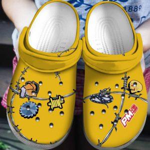 Post Malone crocs shoes crocband