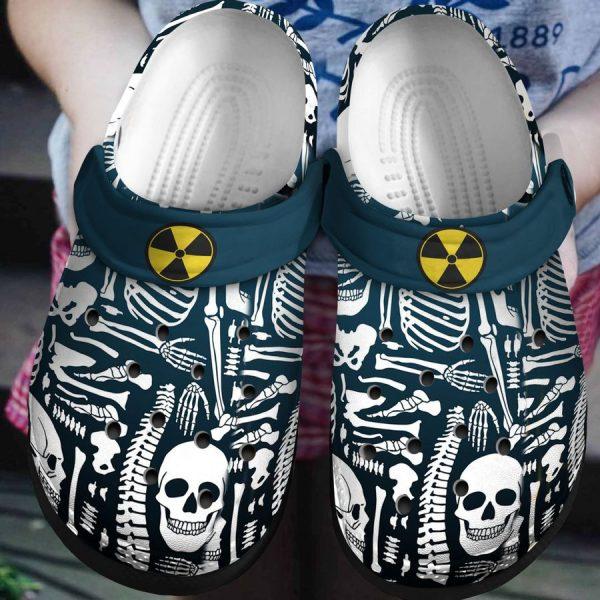 Skeleton rad tech crocs crocband