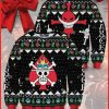 Skull Pirate ugly Christmas sweater