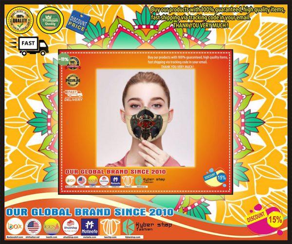 Slayer filter carbon face mask