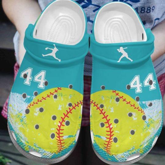 Softball custom personalized number