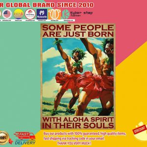 Some people are just born with aloha spirit in their souls poster1