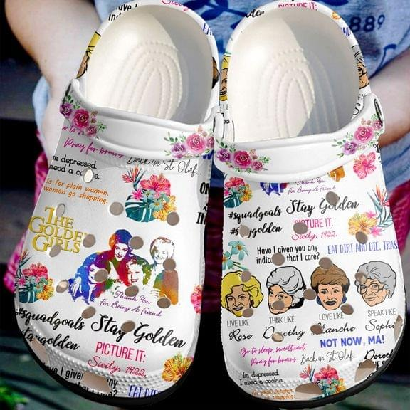 The golden girls croc shoes crocband clog