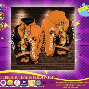 Tigger Winnie the pooh Walt Disney 3d hoodie