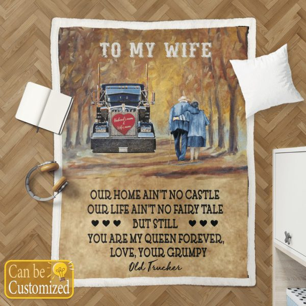 To my wife our home doesn't no castle BLANKET