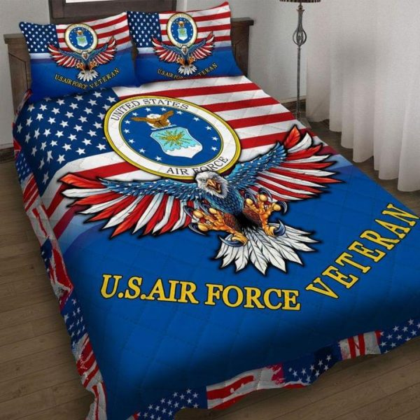 USA air force veteran quilt
