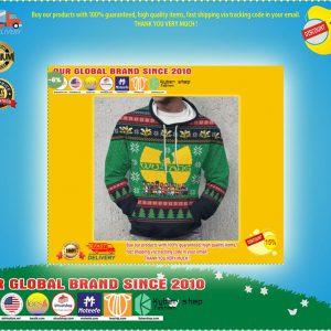 Wu tang cartoons ugly christmas d hoodie