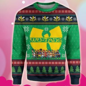 Wu tang christmas 3d sweatshirt
