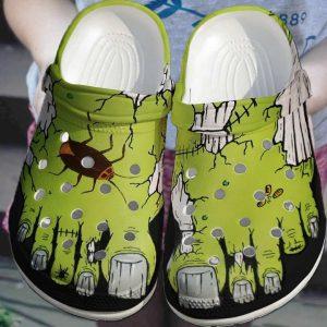 Zombie feet crocs shoes crocband