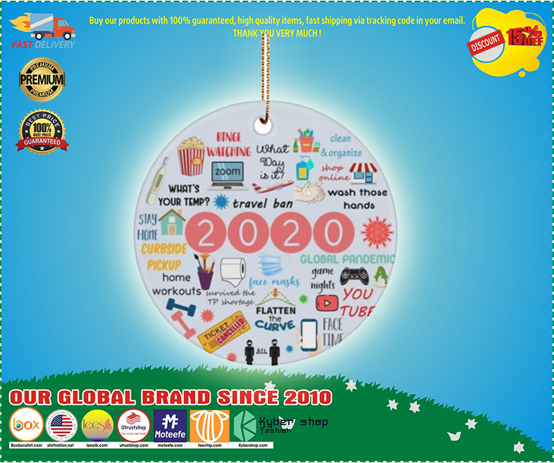 Annual Events Christmas Ornament