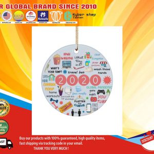 2020 Annual Events Christmas Ornament1