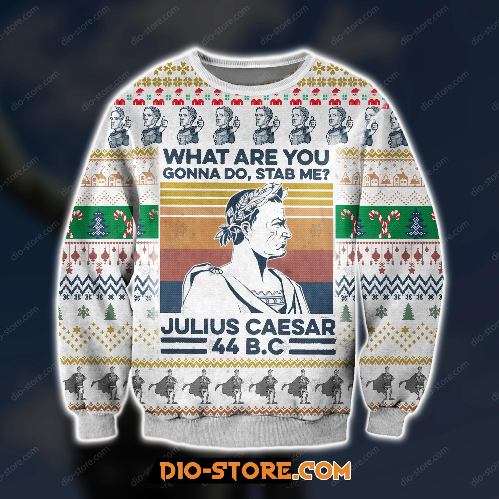 Dprintknittingpatternjuliuscaesaruglychristmassweater