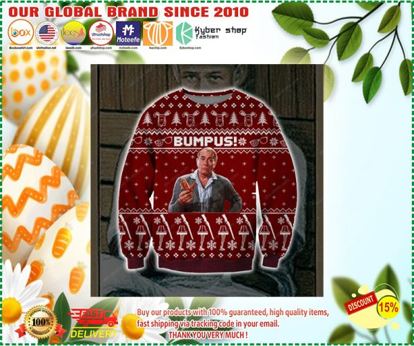 BUMPUS UGLY CHRISTMAS SWEATER