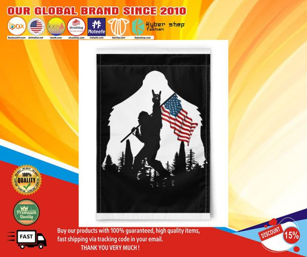 BigfootAmmericanflag