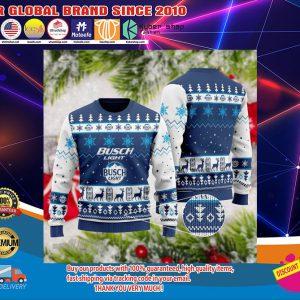 Busch light christmas sweatshirt4