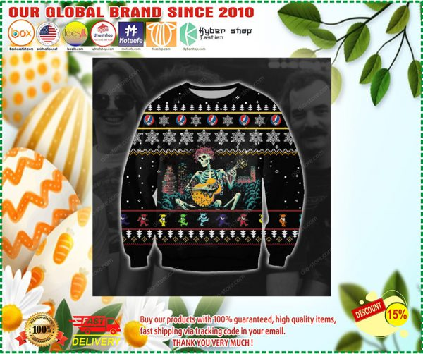 GRATEFUL DEAD UGLY CHRISTMAS SWEATER