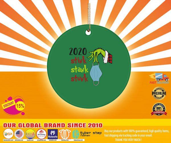 Grinch  stink stank stunk ornament