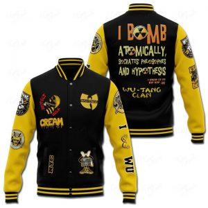 I bomb atomically Wutang Clan 3D hoodie jacket