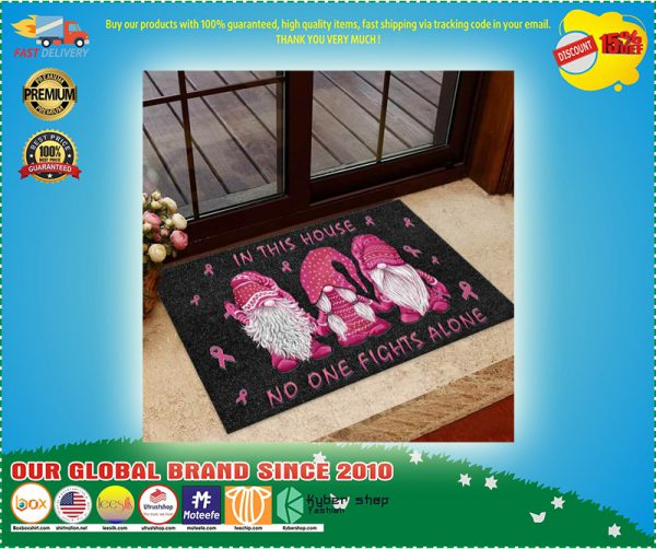 In This House No One Fights Alone Doormat
