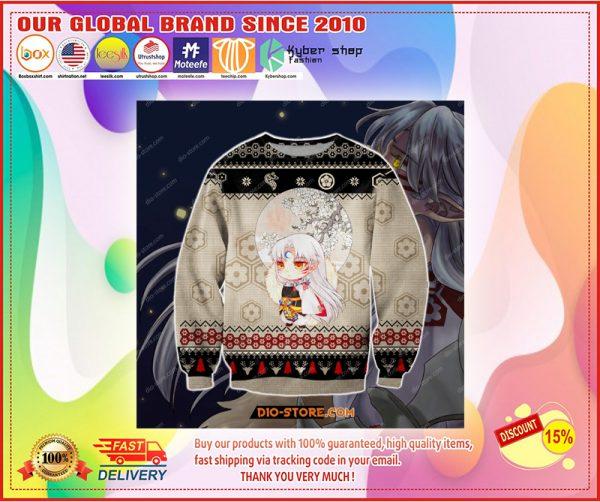 Inuysha manga ugly christmas sweater