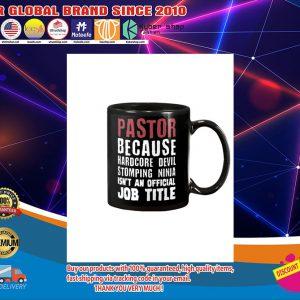 Pastor because hardcore devil stomping ninja isn't official title mug4