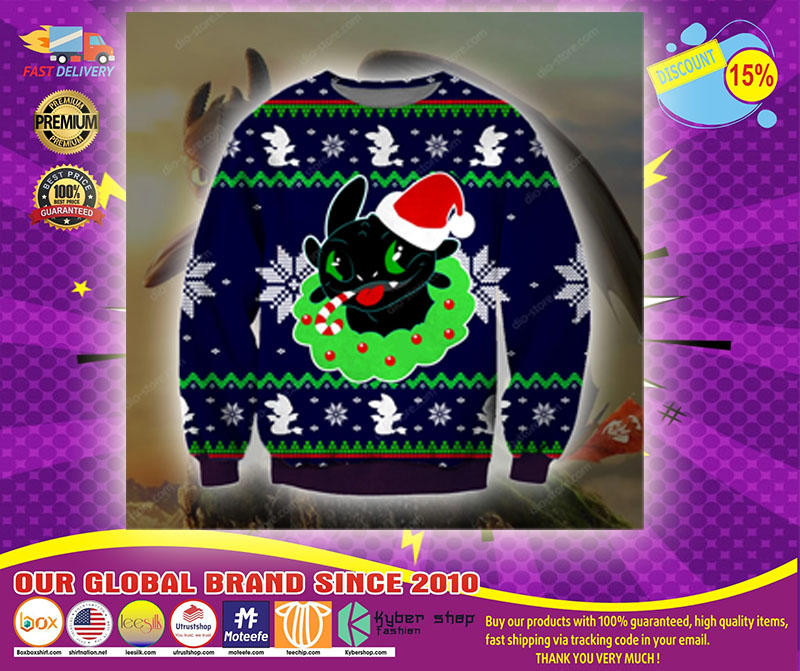 TOOTHLESS KNITTING PATTERN UGLY SWEATER