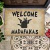 Welcome madafakas doormat