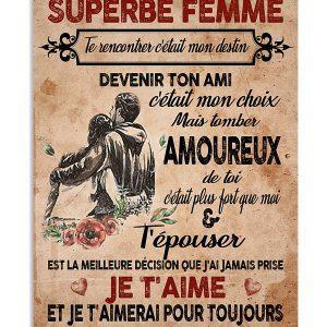 À Ma Magnifique Femme poster