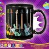 Bass guitar set mug