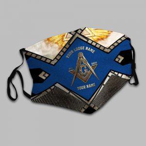 Freemasonry Your lodge name custom name face mask