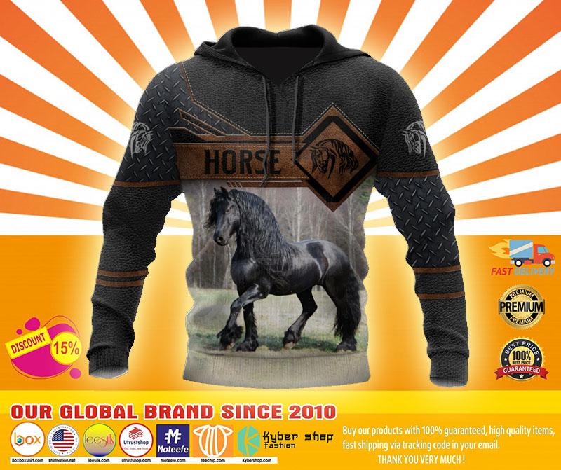 Horse 3D hoodie4