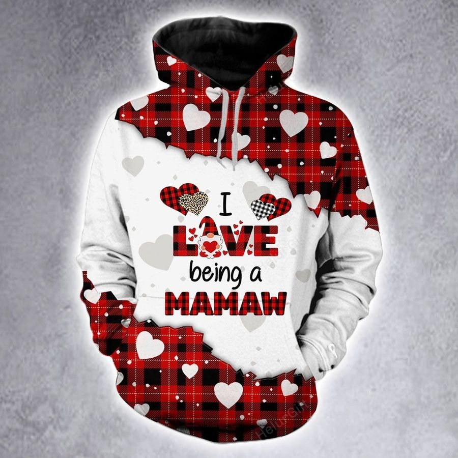 I love being a mamaw custom name 3D hoodie and legging2