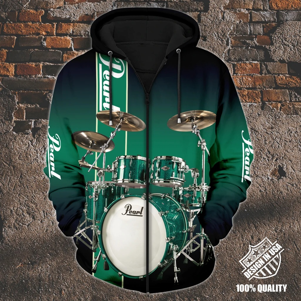Pearl Drummer zip hoodie4