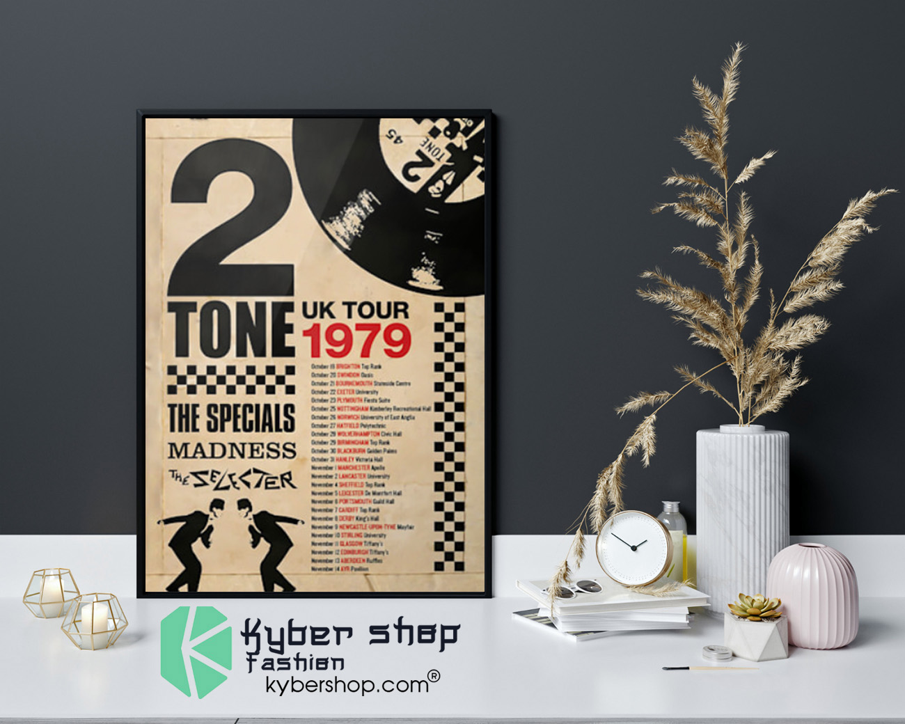 2 Tone UK tour 1979 the specials madness poster 3 1