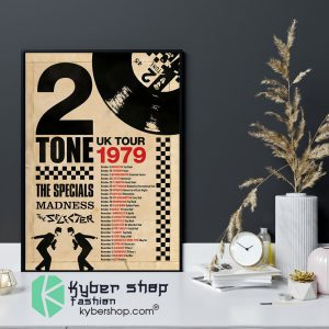 2 Tone UK tour 1979 the specials madness poster 4