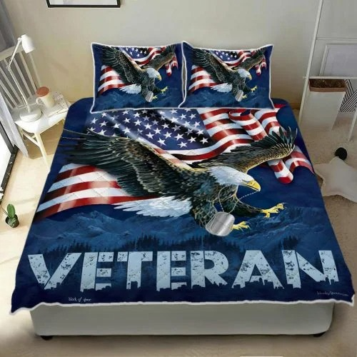 American eagle veteran bedding set2