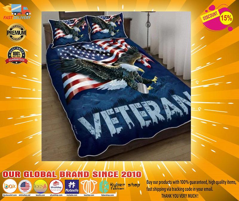 American eagle veteran bedding set3