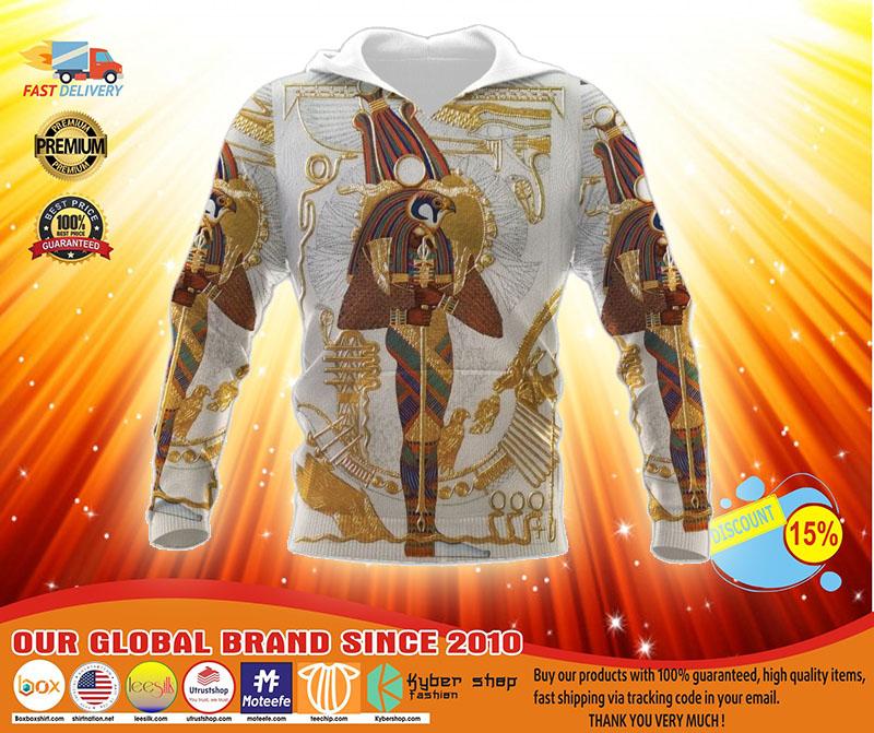 Ancient egypt gods 3D hoodie2
