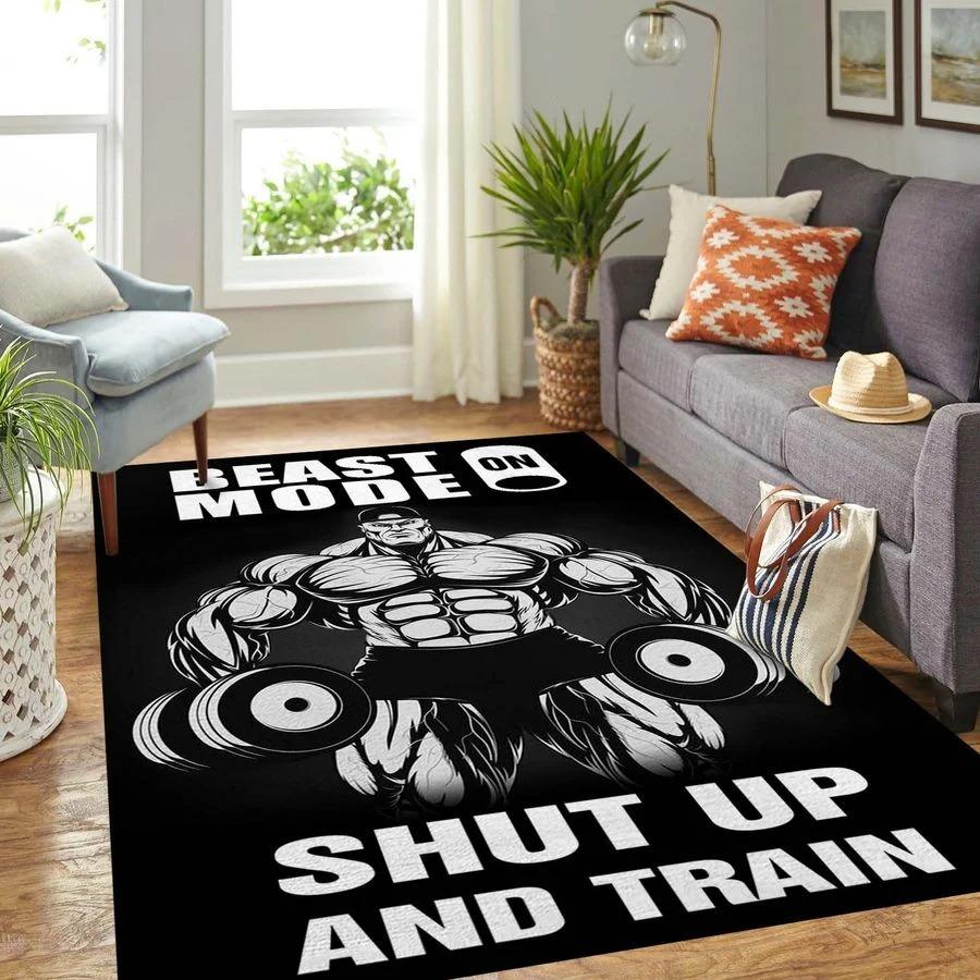 Beast shup up and train rug3
