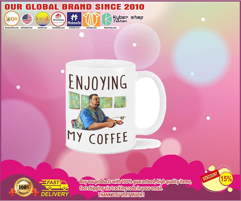 Big Lebowski Enjoying my coffee mug 5