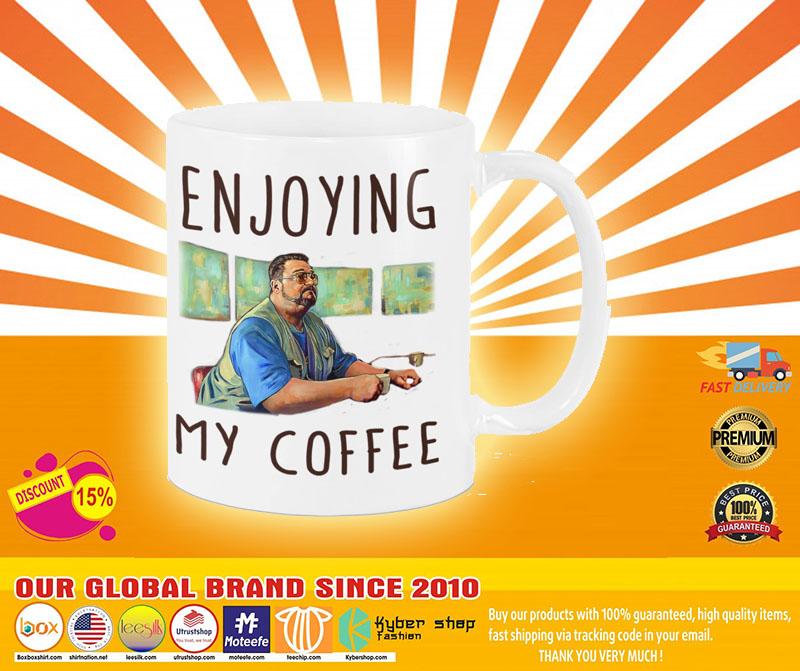 Big Lebowski Enjoying my coffee mug3