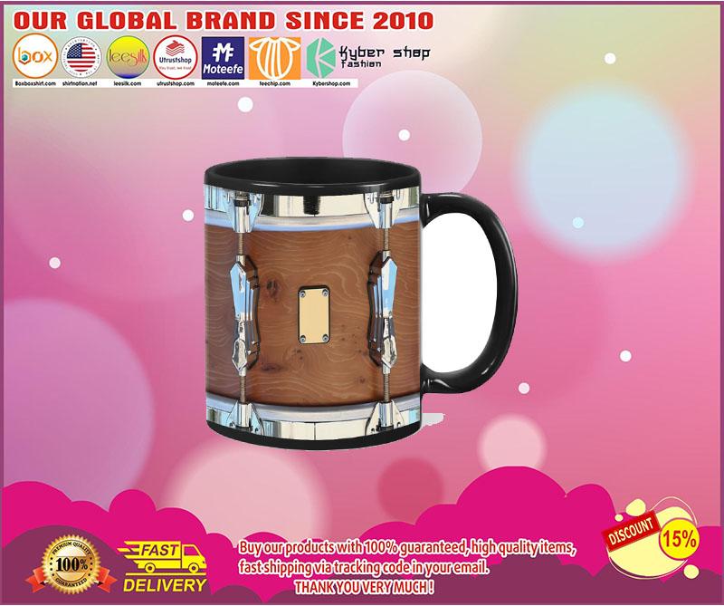 Brown drum mug 5