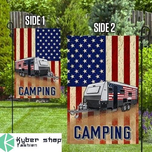 Camper van flag3