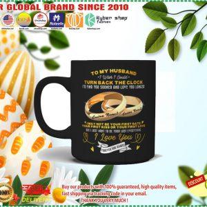 Couplerings To my husband turn back the clock I love you custom name mug 1