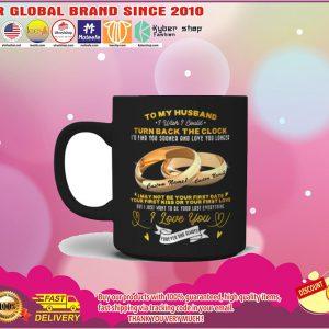 Couplerings To my husband turn back the clock I love you custom name mug 6