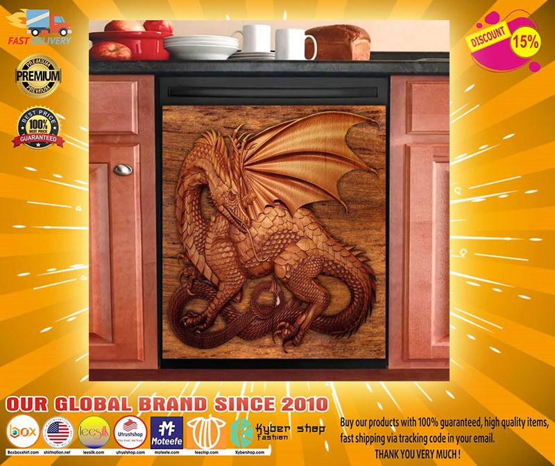 Dragon decor kitchen dishwasher2