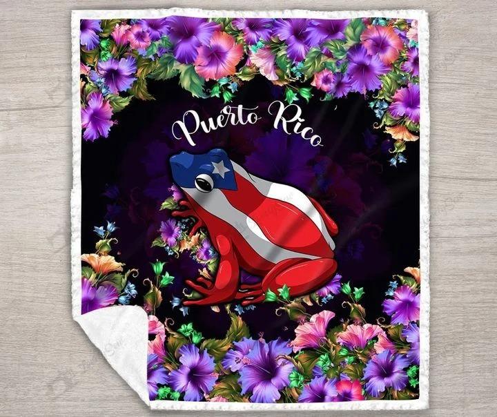 Frog Puerto rico bedding set2