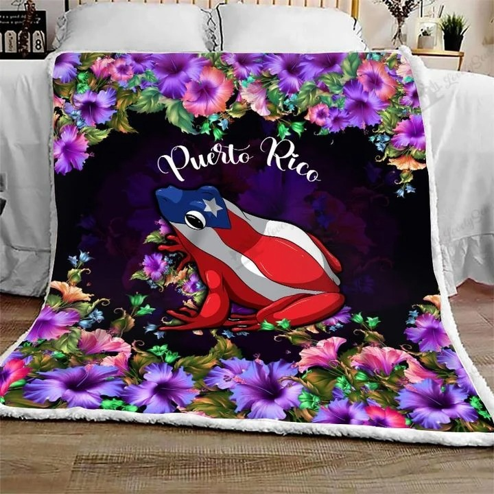 Frog Puerto rico bedding set3