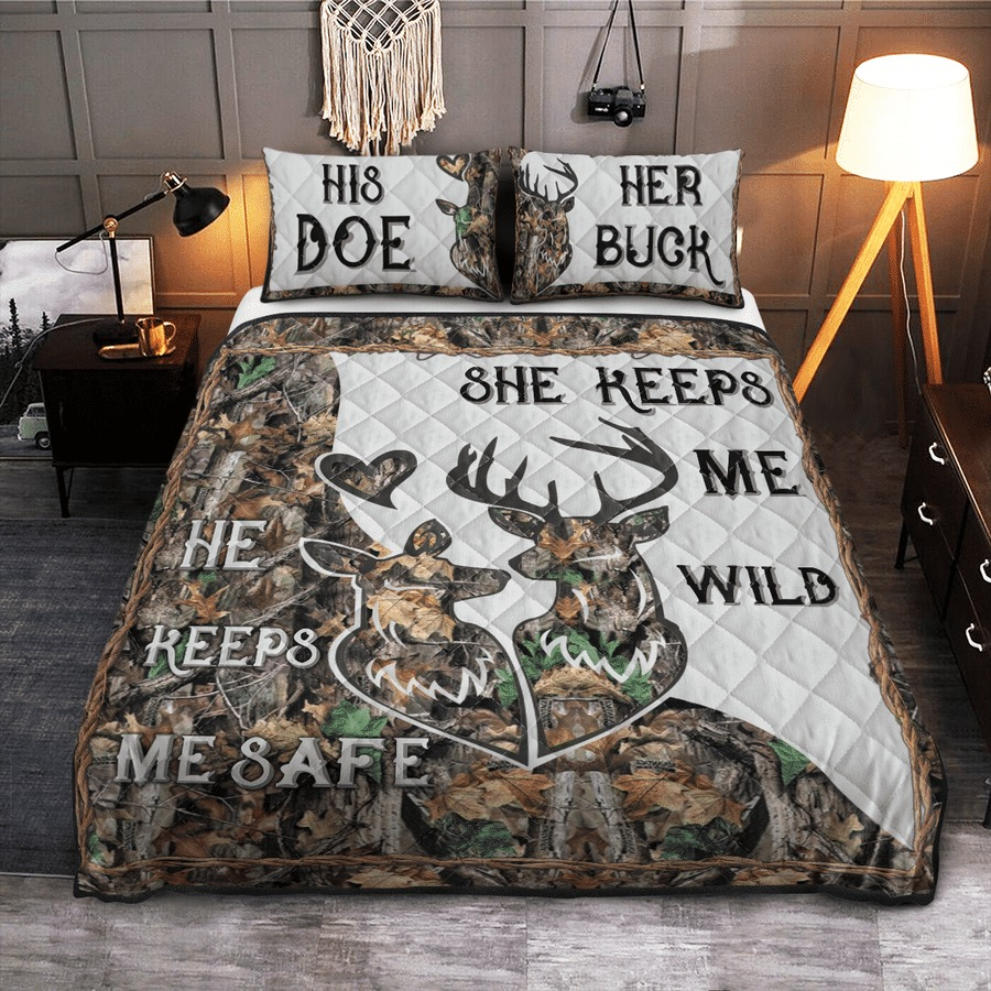 Hunting Deer bedding set6