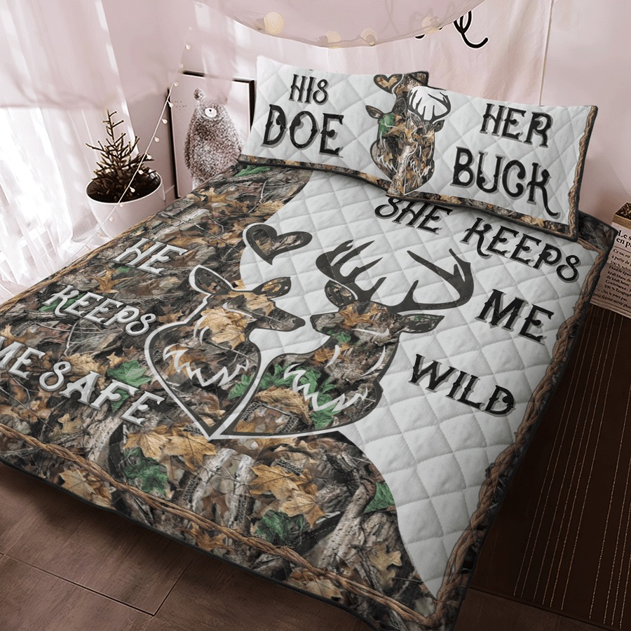 Hunting Deer bedding set7